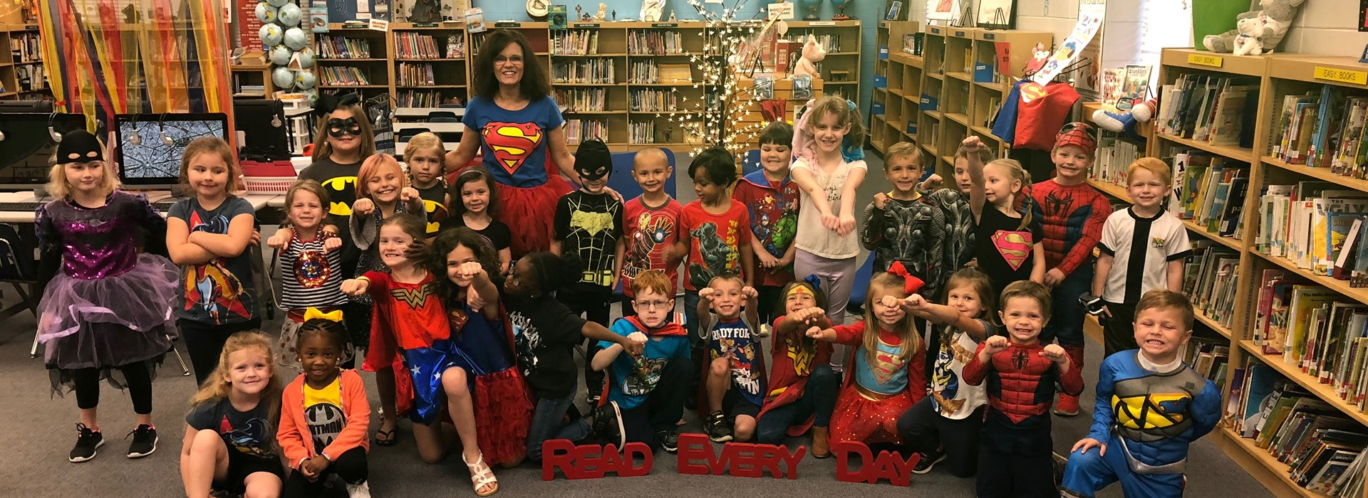 Super Readers- AL School Library Day!