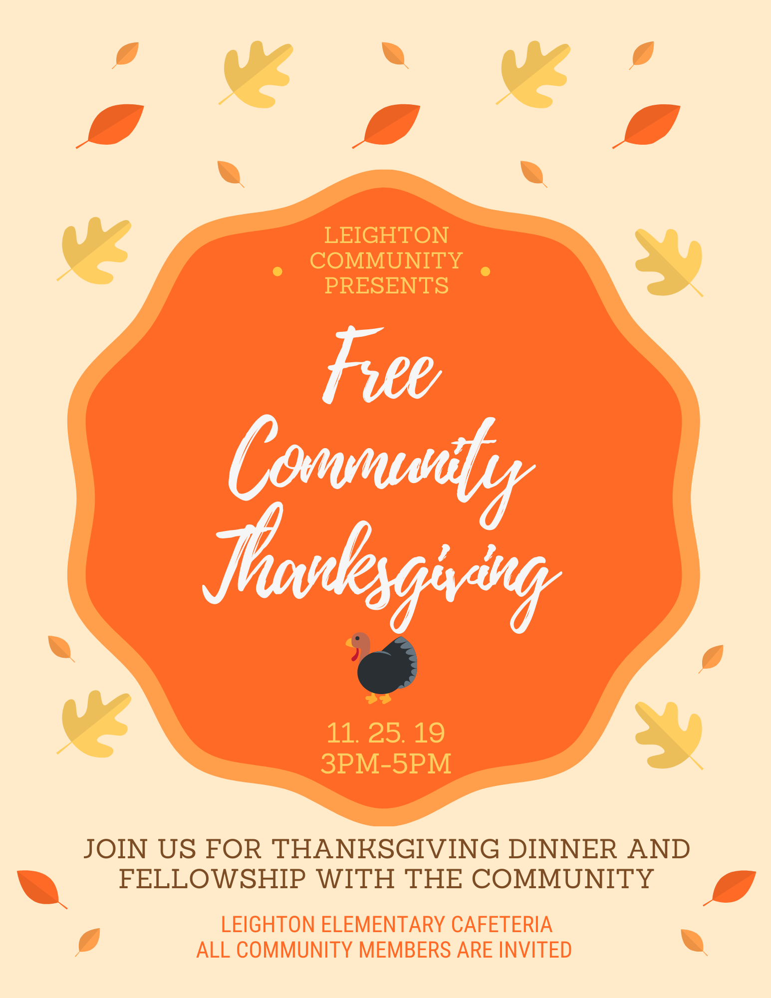 Leighton Community Thanksgiving